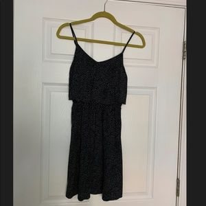 H&M polka dot popover dress